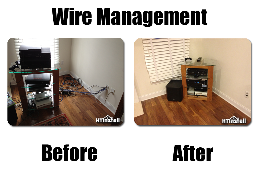 NJ Home Theater Wire Management | HT Install NJ Home Theater Hdmi Wiring on